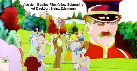 Beatles  Yellow Submarine Heinz Edelmann
